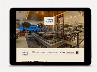 Safadi Intuitive Lebanese Development Restaurant Website Dubai