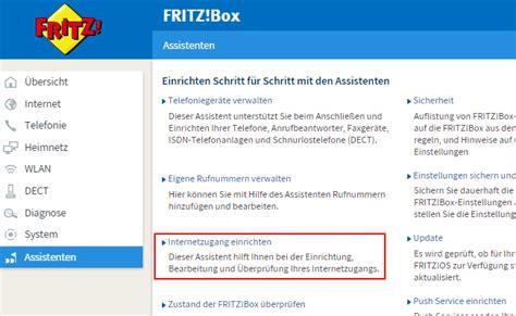 fritzbox als dsl router einrichten standard fritzbox