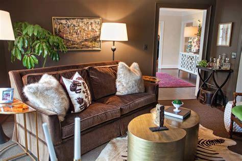 brown living room designs decorating ideas design
