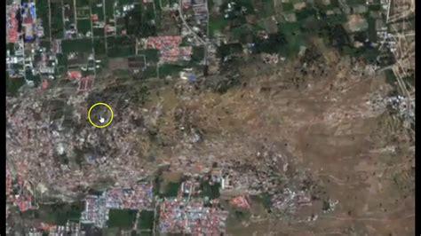 Crazy! Satellite Timelapse Shows Liquefaction During