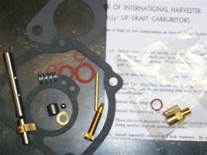 International Farmall Super H M Carburetor Kit W   Shaft