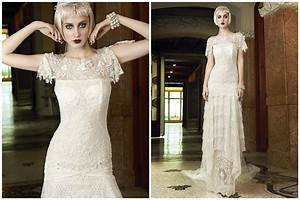 mademoiselle vintage 1920s wedding dress inspiration With 20s wedding dresses