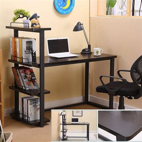 Office Desk With Bookshelf by Modern Home Office Desk Corner Computer Pc Table