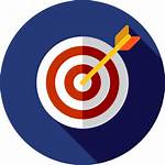 Objetivo Icono Flaticon Flat Icons Gratis Strategy