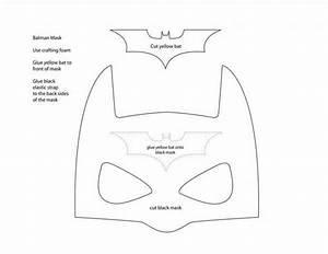 paso a paso como hacer un antifaz o mascara de batman With batman face mask template