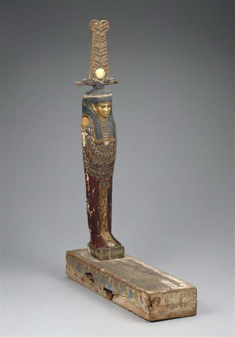 ptah sokar osiris figure museum  fine arts boston