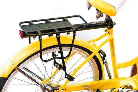 bike rear rack rear bike rack carrier heavy duty b 246 g sports products