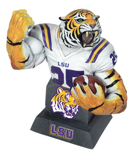 APR121787 - MX COLLECTIBLES LSU TIGERS MASCOT BUST ...