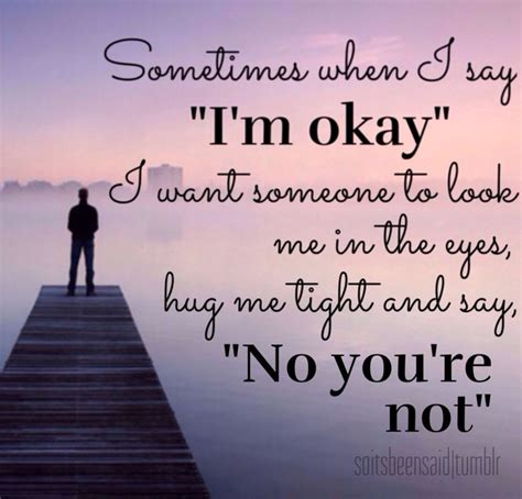 Am Ok Without You Quotes