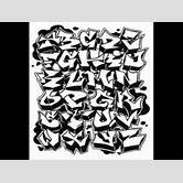 Graffiti Alphabet Block Style | Best | Free |