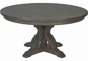 Westbrook Gray Round Dining Table - Dining Tables Colors