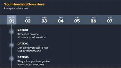 Timeline Interactive Examples Storyline Timelines Interaction Planner