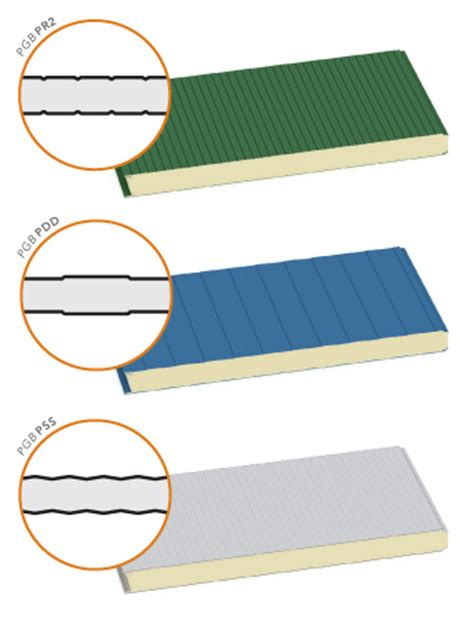 steel metal polyurethane insulated wall sandwich panels