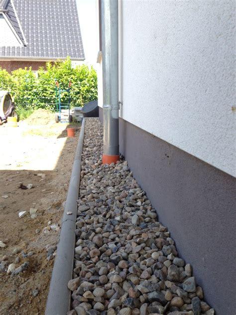 Wer Darf Bauantrag Stellen by Haus Spritzschutzstreifen Aus Kies Bauen Baublog