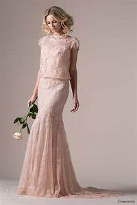 cymbeline bridal 2015 wedding dresses wedding inspirasi With rose pink wedding dress