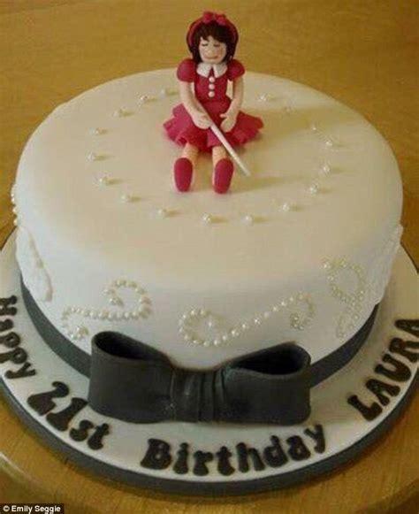 scottish woman receives blind birthday cake topper