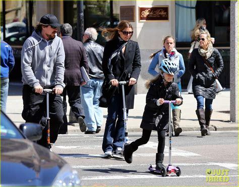 Christian Bale Sibi Blazic Scooter Fun With Emmeline