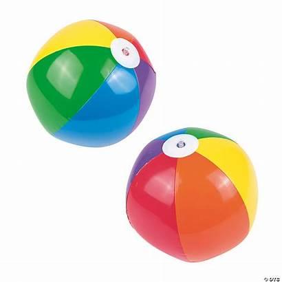 Beach Inflatable Rainbow Balls Medium Toys Summer