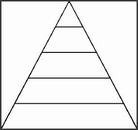 pyramid chart template sampletemplatess sampletemplatess