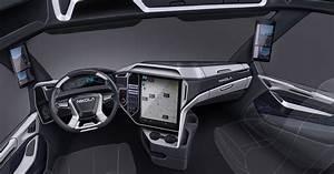 nikola-two-electric-semi-truck-interior - The Fast Lane Truck
