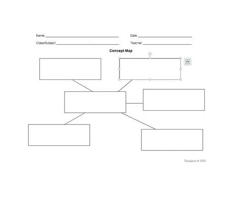 Concept Map Template 40 Concept Map Templates Hierarchical Spider Flowchart