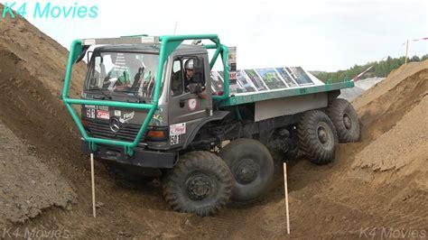 8x8 Mercedesbenz Truck In Truck Trial Oberottendorf