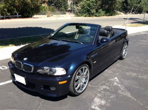 Sell Used 2006 Bmw M3 Smg Convertible 2door 32l E46 In
