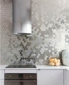 vinyltapete küche make a statement with a metallic kitchen backsplash