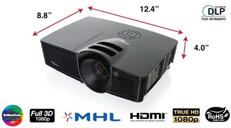 optoma hd141x 1080p 3d dlp home theater