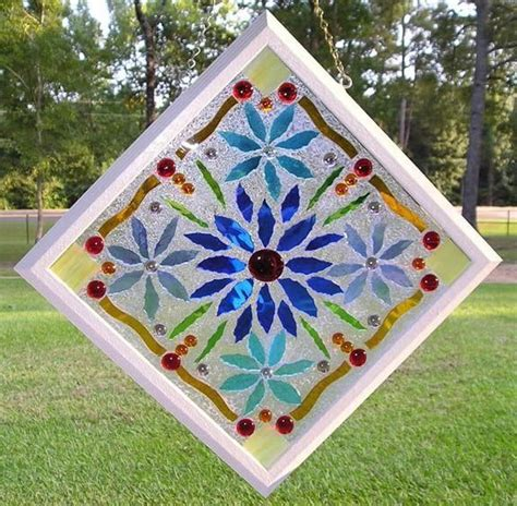 diy faux stained glass    windows  small
