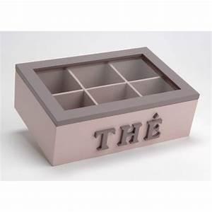Boîte à Thé Compartimentée : boite a the parme compartimentee ~ Teatrodelosmanantiales.com Idées de Décoration