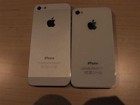 iphone 4s vs iphone 5 iphone 5 vs iphone 4s in on photos cnet