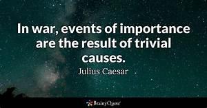 Julius Caesar -... War Result Quotes