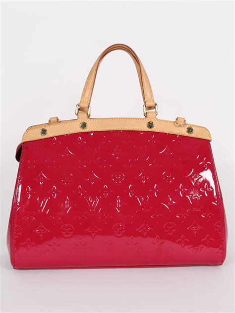 louis vuitton brea mm monogram vernis leather indian