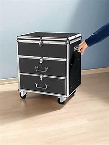 Koffer Zum Rollen : cd dvd koffer mit rollen jetzt bei bestellen ~ Markanthonyermac.com Haus und Dekorationen