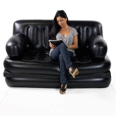 Air Lounge Comfort Sofa Bed by Smart Air Beds Sized 5 X 1 Sofa Bed