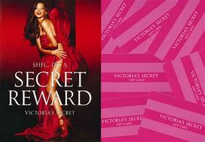 Free Victoria's Secret Reward Card ($10-$500)