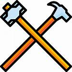 Hammer Construction Icon Building Equipment Hardware Industry