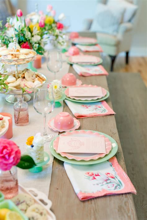 Celebrate Mothers Day Pretty Luncheon by How To Host A Tea Cookies