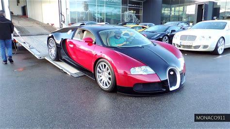 La bugatti chiron, remplaçante de la veyron, développe pas moins de 1 500 chevaux, en reprenant le bloc moteur w16 de la veyron. Bugatti Veyron 16.4 Start-Up & Loading on Truck - YouTube