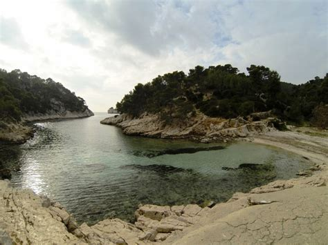 calanque de port pin calanc o kayak paddle