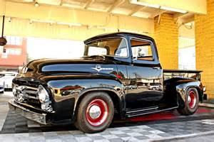 How To Make A Floor Bed Frame by 1956 Ford F 100 Custom Pickup 130252