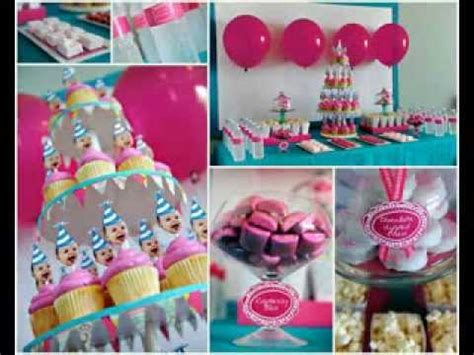 One Year Old Birthday Party Ideas Youtube