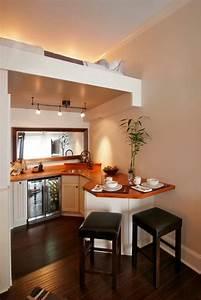 Sehr Kleine Küche Einrichten : kleine wohnung einrichten 68 inspirierende ideen und ~ Bigdaddyawards.com Haus und Dekorationen