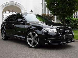 Used AUDI A3 SPORTBACK TDI S LINE SPECIAL EDITION BLACK