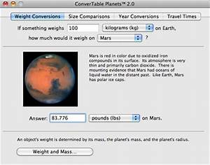 Weight of the Planets - Pics about space