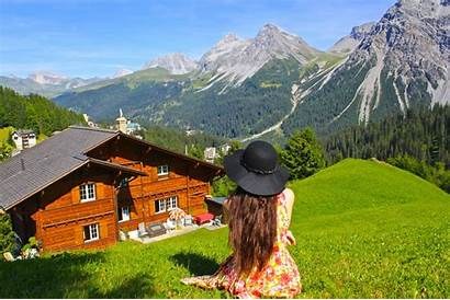 Scenic Visit Countries Escape Switzerland Reality Scenery