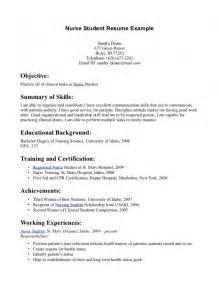 Nursing Resume Format For Freshers Samples Of Resumes