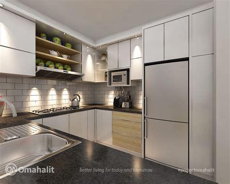 jasa desain kitchen set  comal