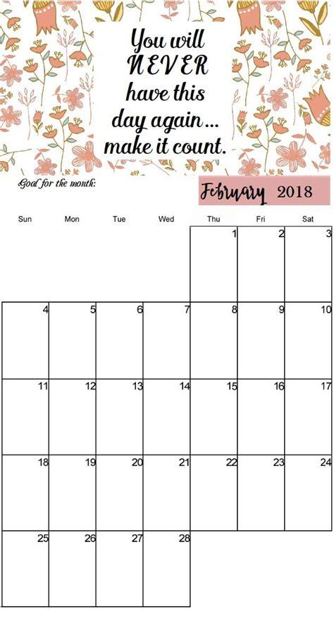 inspiring quotes february  calendar  desktop home